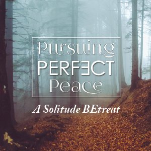 Pursuing PERFECT Peace: IN-PERSON 1-Day BEtreat